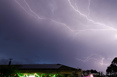 A Different Kind of Christmas Lights (James Dun) Tags: christmas merry new year lighting strike cc thunderstorm storm rain severe brisbane queensland australia nikon d7000 happy summer weather season