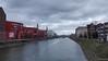 Innenhafen - Duisburg (frankdorgathen) Tags: water innenhafen innerharbor innerharbour duisburg ruhrgebiet outdoor winter crane building house sky cloud urban city town industry