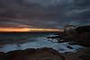 Castel Boccale - Livorno (biondot) Tags: canon7d sigma1020mmf456exdc sigma1020mm sigma1020mmf456 wideangles wideangle livorno castelboccale romito italia tramonto tripleexposure bracketing tripod grandangolo sunset clouds dramaticskye nuvole calafuria landscape seascape