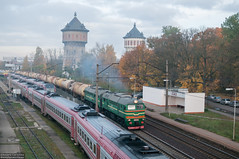 2M62-0924 Riga (rokiczaaa) Tags: m62 2m62 ld riga latvia freight train morning rail railway orlen lietuva