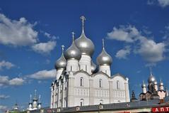 iglesia en el interior del kremlin-Rostov veliki (jordi doria 140) Tags: rusia1 rusia russia rostovveliki kremlin