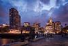 Boston Long Wharf (Chen Yiming) Tags: newengland northeastern eastcoast boston massachusetts longwharf bostonharbor wharf night dusk skyline cityscape