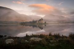 Kilchurn in the mist (chrismarr82) Tags: klchurn castle loch awe morning sunrise fog mist historic nikon d750