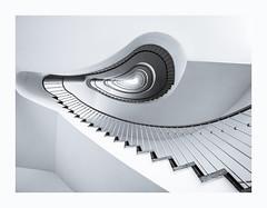 Spiral Staircase (K.H.Reichert [ not explored ]) Tags: treppenhaus deutschland sw germany blackwhite vistberlin treppe stairs wendeltreppe stairway spiralstaircase spirale stairporn spiral architecture berlin kudamm architektur traveltheworld staircase