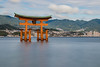 Itsukushima Shrine 3 (21mapple) Tags: itsukushima shrine tori gate japan miyajima japanese religion religious sea ocean water