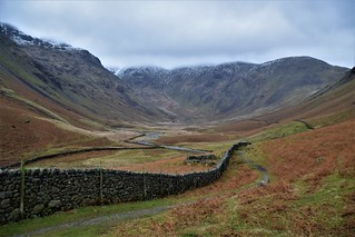 Walk from Wasdale Head, Cumbria, Lake District