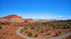 Capital Reef Landscape (Don Mosher Photography) Tags: utah hiking travel holiday park desert
