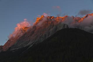 Sunset in Ehrwald, Tirol - Austria (0304)