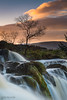 Sunset (The Pixel and Eye) Tags: campsiefells carronvalley endrickwater loupoffintry riverendrick countryside rapids river rocks sunset water waterfall thepixelandeye bfburke winter