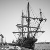 tall ship el galeon (FraVal Imaging) Tags: ship spain malaga flickr espana andalusien galeon andalucia bw blackandwhite spanien muelleuno