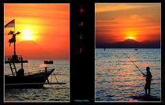 sunset Bali   à © Lovina (philippedaniele) Tags: sunset coucherdesoleil bali couleurs