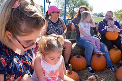 Boyert's Hayride & Pumpkin Patch (meganleebuchanan) Tags: people family lifestyle ohio travel tourism fall hay hayride farm greenhouse apples pumpkin outdoors explore tractor medina