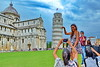 The obligatory shot of Pisa (gerard eder) Tags: world travel reise viajes europa europe italy italia italien toscana toskana tuscany pisa leaningtower cathedral catedral kathedrale sacral outdoor