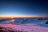 Sunset & Snow On Mauna Kea 01 (JUNEAU BISCUITS) Tags: maunakea maunakeasummit summit hawaii bigisland sunset landscape nikond810 nikon observatory astronomy universityofhawaii snow winter