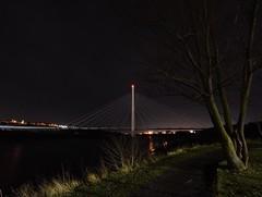 The northern Spire (Mark240590) Tags: uk england northeast sunderland architecture d5200 nikon longexposure photo night bridge