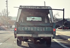 That sums it up... (Dave* Seven One) Tags: chevrolet c10 1960s rusty dented rotted broken used beat countryboy redneck hillbilly classic vintage dailydriver