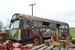 692AEH (PD3.) Tags: aec reliance weymann 692aeh 692 aeh potteries motor traction scrap restoration abandoned england uk bus buses psv pcv flexford north baddersley chandlers ford hampshire hants classic preserved