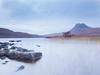 Loch Lurgainn and Stac Pollaidh at dawn (the44mantis) Tags: scotland coigach ullapool stacpolly stacpollaidh ecosse escocia scozia schotland schottland highland loch mountain dawn water ardmair graham