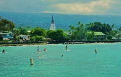 Fun in the Sun (chumlee10) Tags: cruise2017 hawaii water paddle board paddleboard swimming ocean snorkel island kona kailua