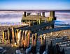 Hunstanton (scarbrog) Tags: sidelit groyne hunstanton longexposure sea coast eastcoast