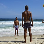 Footvolley at Copabana beach thumbnail