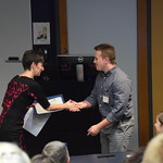 Students receive awards for their Environmental Science presentations and research