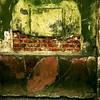 Green Plaster (David Thibodeaux) Tags: abstractexpressionism abstractreality brutalism brutalistart deconstruction minimalism objetstrouves paintwithlight wabisabi zenandtheartofphotoshop color composition luminosity texture texturelib green red plaster davidthibodeaux