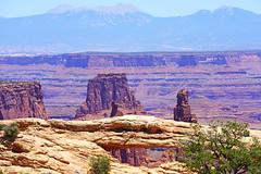 Mesa Arch and beyond, Canyonlands, USA (Andrey Sulitskiy) Tags: usa utah canyonlands