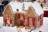 log cabin (raspberrytart) Tags: festivaloftrees christmas gingerbread gingerbreadhouse gingerbreadcookie cookie candy decorating nikon d7100