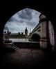 """Dark clouds over Westminster"" (Matthew Johnson1) Tags: london bridge westminster queenelizabeth tower renovation thames light late darkclouds politics"
