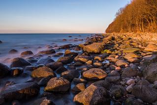 Küste bei Lohme, Insel Rügen