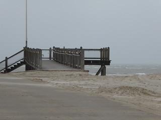 Strandleer bei Windstärke 7
