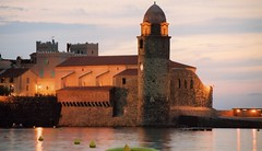 COLLIOURE NOTRE DAME DES ANGES CHURCH AND LA ROCASSE CASTLE (patrick555666751 THANKS FOR 4 000 000 VIEWS) Tags: colliourenotredamedesangeschurchandlarocassecastle collioure notre dame des anges church and la rocasse castle chateau eglise chiesa iglesia igreja our lady of angels ourladyofangels cotlliure france europe europa pays catalan paisos catalans catalogne catalunya roussillon rossello pyrenees orientales mediterranee mediterraneo mediterranean catalonia cote vermeille patrick roger patrickroger