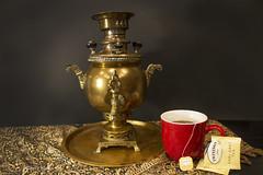Old and new (lamoustique) Tags: samovar stilllife tea oldandnew sundaylights