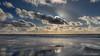 Beach, Sea and Clouds, Westenschouwen (BraCom (Bram)) Tags: 169 bracom bramvanbroekhoven holland nederland neeltjejans netherlands noordzee northsea schouwenduiveland westenschouwen zeeland beach cloud cold koud reflection sea seascape spiegeling stormvloedkering strand sun widescreen windmills windmolens winter wolk zee zeezicht zon