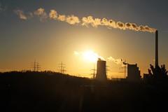 Ruhrgebiet (Vrenna) Tags: ruhr ruhrgebiet ruhrpott canoneos700d canon eos halde hoheward kraftwerk gegenlicht silhouette winter fotografie fotografieren sonnenaufgang