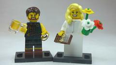 Brick Yourself Custom Lego Figures Scottish Wedding Celebrations