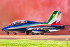 MB-339 PAN Frecce Tricolori flying the colours! (paulroberts840) Tags: tricolori frecce italianairforce italy airforce military aviation avgeek colours flying jet smoke blue red pilot italian displayteam takeoff riat airtattoo