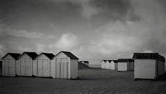 1ere photo de l'année! (kate053) Tags: cabines plage ouistreham normandie