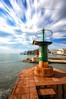 (007/18) Baliza en el Portet (Pablo Arias) Tags: pabloarias photoshop photomatix capturenxd españa cielo nubes arquitectura baliza mar agua mediterráneo elportet altea alicante