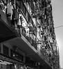 HK Life 1 (Sami Shead) Tags: hong kong blackandwhite laundry building urban city street