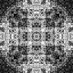 1758033662 (michaelpeditto) Tags: art symmetry carpet tile design geometry computer generated black white pattern