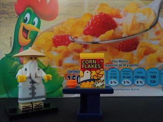 Corn flakes, de desayuno