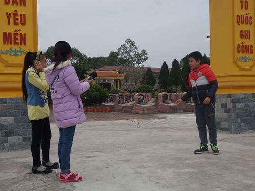 Ce monument a été érigé en mémoire des soldats vietnamiens tués pendant la guerre d'Indochine (1946-54) et la guerre du Vietnam (1955-1975)