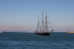 STS Leeuwin (Mike - through my eyes) Tags: leeuwin fremantle training sail ship swanriver port