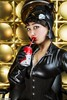 Glam Kitty Takes A Sip... (Ring of Fire Hot Sauce 1) Tags: cosplay catwoman remysuzuki coke cola glamour portrait redlips 3sgstudio