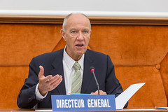 Standing Committee on the Law of Patents (WIPO   OMPI) Tags: delegate directorgeneral francisgurry ompi scp wipo