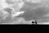 Stormy Weather (Birdhouse camper) Tags: copenhagen denmark street silhouette sky fujifilm fuji fujifilmx10 x10 blackwhite blackandwhite