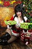 Ample Gifts... (Ring of Fire Hot Sauce 1) Tags: christmas cosplay elvira countessautumnlynn portrait holiday 3sgstudio
