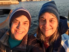 Fells Point selfie (karma (Karen)) Tags: baltimore maryland fellspoint harbors selfie family sisters twins